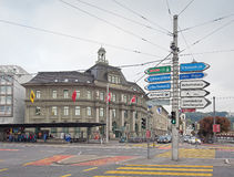 Post Building in Lucerne Stock Images