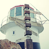 Post at Cape of Good Hope Royalty Free Stock Photo