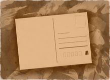 Post card background Royalty Free Stock Photography