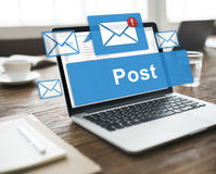 Post Content Internet Mail Opinion Communication Concept Royalty Free Stock Images