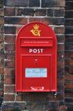 Post in Denemarken stock afbeelding