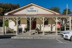 Post en Telegraafbureau van Arrowtown, Nieuw Zeeland Stock Fotografie