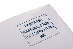 Post envelope Royalty Free Stock Photo