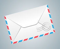 Post envelope Stock Image