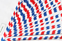 Post envelope. Air mail post envelope background Stock Image