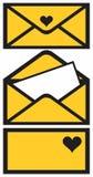 Post envelope. Royalty Free Stock Photos