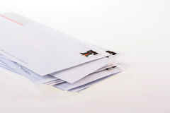 Post envelopes Stock Photography
