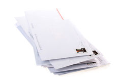 Post envelopes Royalty Free Stock Photography