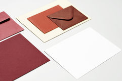 Post envelopes Royalty Free Stock Photo