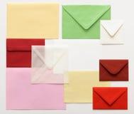Post envelopes Royalty Free Stock Photos