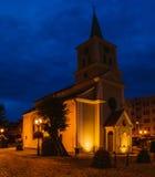 Post-evangelical church in Sztum, Poland Stock Photo