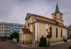 Post-evangelical church in Sztum, Poland Royalty Free Stock Images