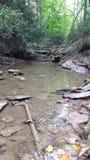 Post flood June 2016 creek bed Stock Photo