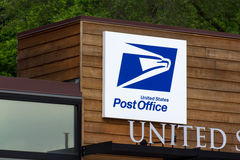 Post-Gebäude Vereinigter Staaten Stockfoto