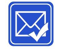 Post gesendet lizenzfreie abbildung