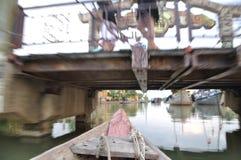 Post i zwalnia w Hoi rzekę Zdjęcia Royalty Free
