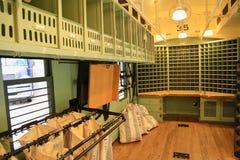 Post Isometrisches Gebäude Lizenzfreie Stockfotos