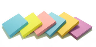 Post Its Royalty Free Stock Photography