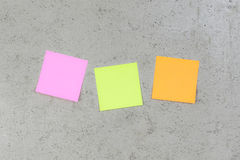 Post its Stock Image