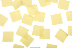 Post its Royalty Free Stock Image