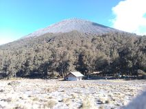 Post kali mati. Where the last camp before the summit of the mountain semeru Royalty Free Stock Photos