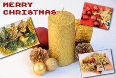 Post- kort för jul Royaltyfria Foton