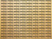 Post locker room Stock Images