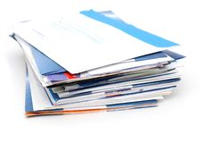 Post mails Stock Photos