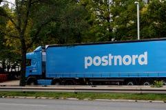 POST-MANN VON POSTNORD Stockbilder