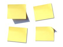 Post it memo Stock Image