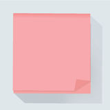 Post memo notepaper icon vector illustration Royalty Free Stock Photos