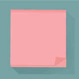 Post memo notepaper icon vector illustration Concept. Post memo notepaper icon vector illustration Stock Photos