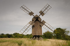 Post mill Royalty Free Stock Photography