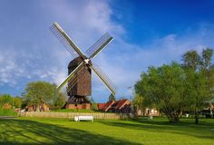 Post mill Papenburg Royalty Free Stock Images