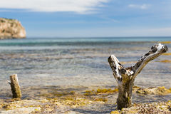 Post near the sea Royalty Free Stock Images