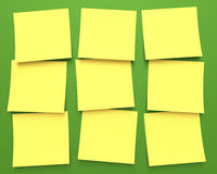 Post-It Royalty Free Stock Photos