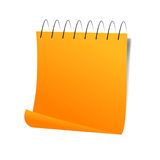 Post-It Note. Vector Illustration Stock Image