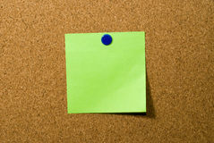 Post a note Royalty Free Stock Image