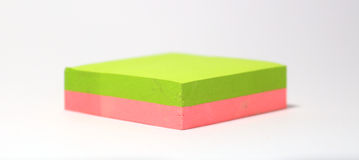 Post-It Note. A Post-It Note Stock Photography