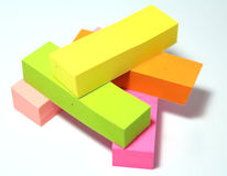 Post-It Note. A Post-It Note Royalty Free Stock Image