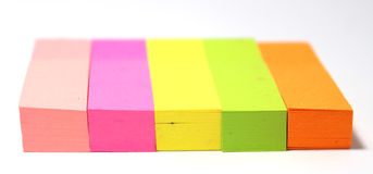 Post-It Note. A Post-It Note Stock Photo