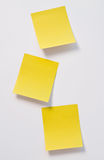 Post-it note. Isolated on white background royalty free stock image