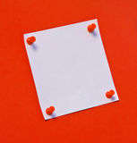Post-it note Stock Image