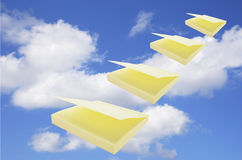 Post It Note Pad Stock Photo