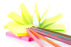 Post-it note paper Royalty Free Stock Image