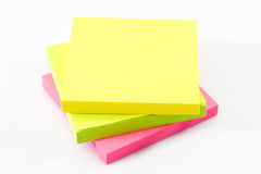 Post-it note paper Stock Photography