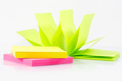 Post-it note paper Stock Image