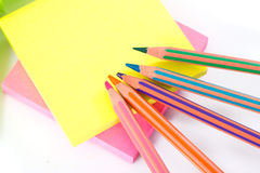 Post-it note paper Stock Photo