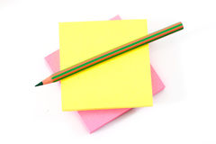 Post-it note paper Royalty Free Stock Photos