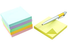 Post it note Royalty Free Stock Photos